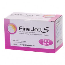 Інсулінові голки Fine Ject (Файн Джект) 5 мм