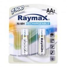 Аккумулятор  Raymax HR6 АА 1500mAh Ni-Mh 1.2V