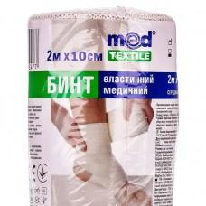 Бинт еластичний Med textile 2 м x 10 см (02x100x2)