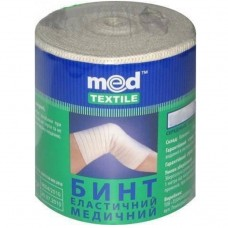 Бинт еластичний Med textile 1 м x 10 см
