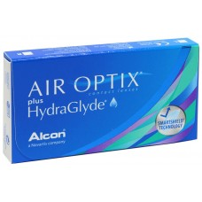 Силікон-гідрогелеві контактні лінзи Air Optix plus HydraGlyde (-01.50)