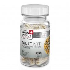 Вітаміни в капсулах MultiVit №30 Swiss Energy