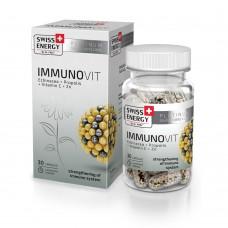 Вітаміни в капсулах ImmunoVit №30 Swiss Energy
