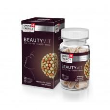 Вітаміни в капсулах BeautyVit №30 Swiss Energy