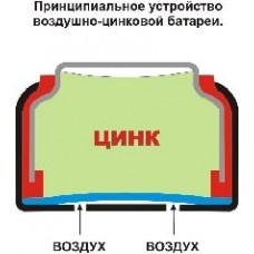Батарейка для слухового апарату А 675