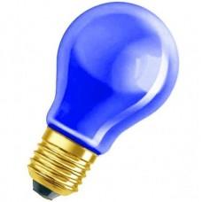 Синя лампочка Праймед 60 Вт